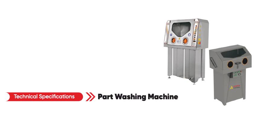 Моечная машина для промывки деталей