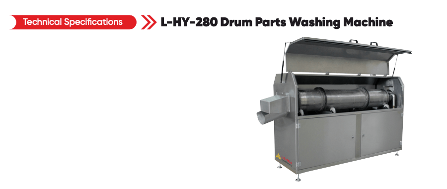 моечная машина для промывки деталей L HY 280